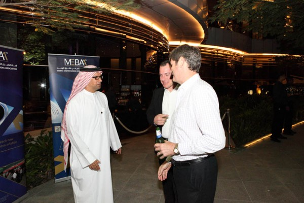 MEBAA Reception 2012